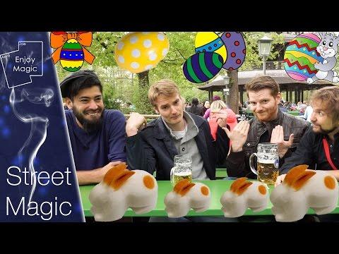 Osterzauberei mit Christaldo und Ramiro im Englischen Garten || Street Magic || Enjoy Magic ||