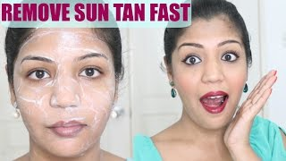 How To Remove Sun Tan From Face | Effective & Immediate Results | SuperPrincessjo