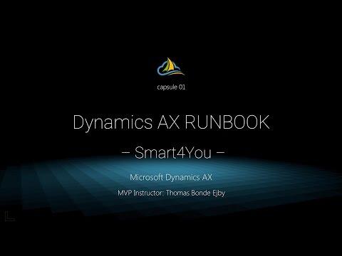 Smart4You - Dynamics AX RUNBOOK