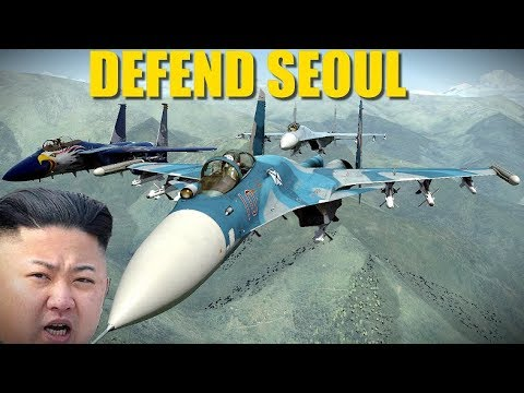 North Korea Campaign: Reapers Scramble To Protect Seoul From Missile Attack | DCS