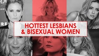 Hottest Lesbians and Bi Women in ShowBiz 2015-2016