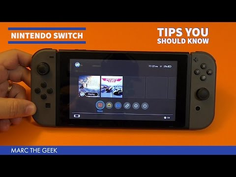 Nintendo Switch Tips You Should Know