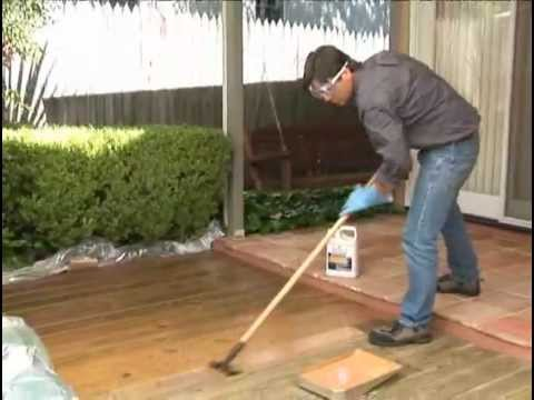 Clean Treat A Deck In One Day With Thompson S Waterseal