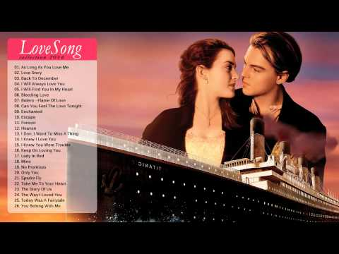 Best English Love Hits - Top 100 Greatest Love Songs Of All Time - Various Artists