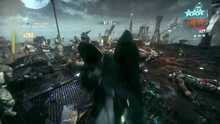 Batman: Arkham Knight - Combo Master - x583 vs 5 brutes