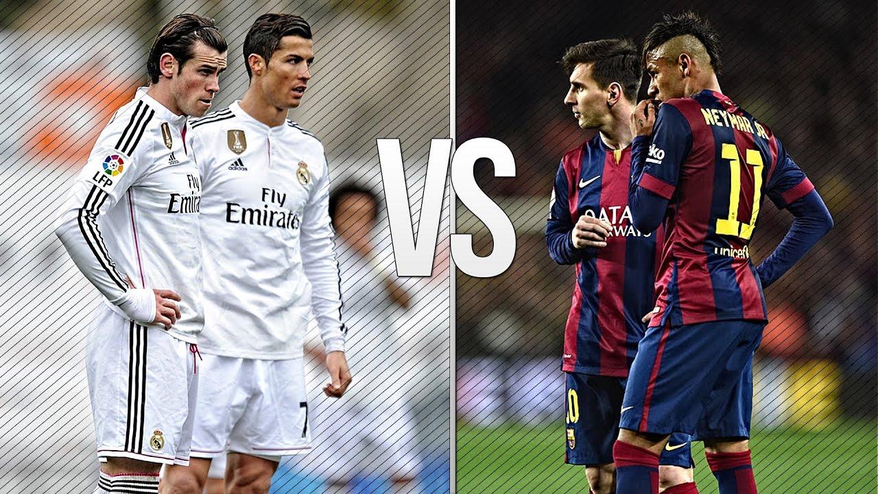 Lionel Messi & Neymar vs Ronaldo & Bale 2015 Skills ... | 1280 x 720 jpeg 246kB