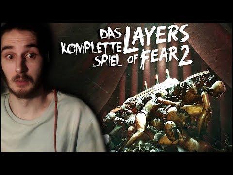 DAS KOMPLETTE SPIEL   Let's play Layers of Fear 2 (Deutsch/German)