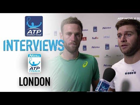 Venus Harrison Celebrate Reaching Semi-finals Nitto ATP Finals 2017