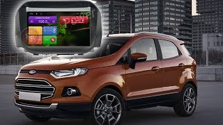 Ford Ecosport  штатное головное устройство. Тест установки Android, Redpower 18250(, 2015-11-02T13:39:10.000Z)
