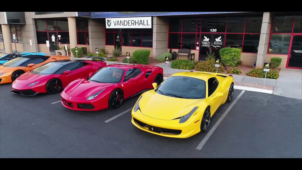 Hurac 225 N 488 Gallardo Amp 458 Royalty Exotic Cars Clip Youtube