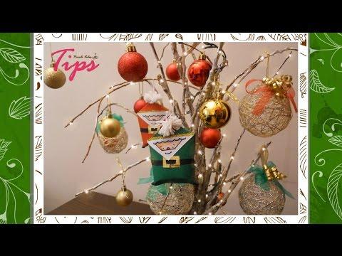 Arbol de navidad con ramas secas diy manualidades de - Arbol de navidad con ramas ...
