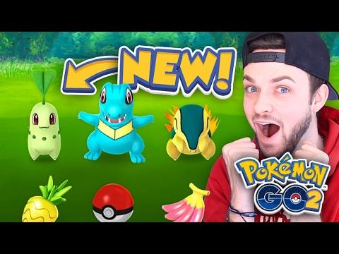 "Pokemon GO ""GEN 2"" GAMEPLAY - CATCHING *NEW* POKEMON! (Part #1)"