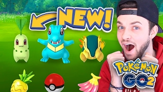 "Pokemon GO ""GEN 2"" Ep.1 - CATCHING *NEW* POKEMON! (Gameplay)"