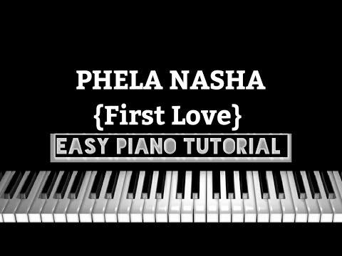 Piano pehla nasha piano chords : Pehla Nasha (First Love) - easy piano Tutorial - YouTube