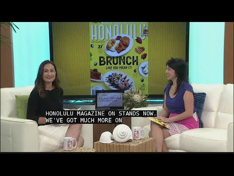 Honolulu Magazine's March Issue is all about BRUNCH
