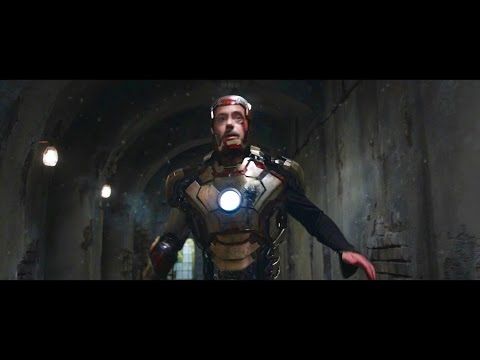 Every Iron Man Transformation/Suit Up & Downs HD