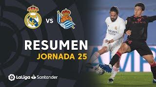 Resumen de Real Madrid vs Real Sociedad (1-1)