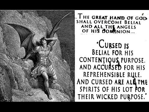 Satan { Belial } in the Dead Sea Scrolls