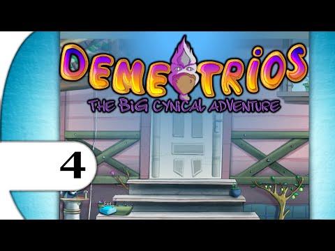 Demetrios - The BIG Cynical Adventure | walkthrough playthrough | PART 4 disguise