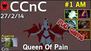 CCnC [FWD] plays Queen Of Pain!!! Dota 2 Full Game 7.21