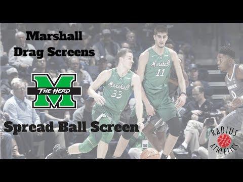 Marshall Thundering Herd - Drag Screens - Spread Ball Screen