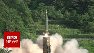 US and South Korea conduct military drills in response to North Korea's missile launch  - BBC News