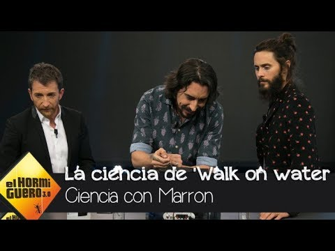 Marron interpreta 'Walk on water' con fuego que baila a ritmo de la canción - El Hormiguero 3.0