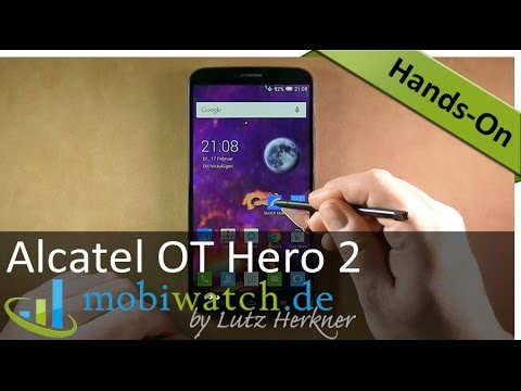 Video-Test Alcatel OT Hero 2: 6-Zoll-Bolide mit Octa-Core-Prozessor