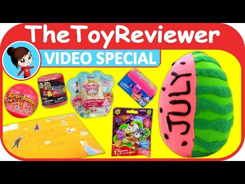 July 2017 Video Special FAN MAIL Shoutouts Giveaway Play-doh Unboxing Toy Review by TheToyReviewer