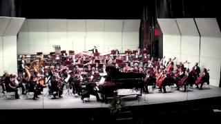 Witold Lutoslawski. Paganini Variations. OSUG / Juan Trigos. Mauricio Nader, piano