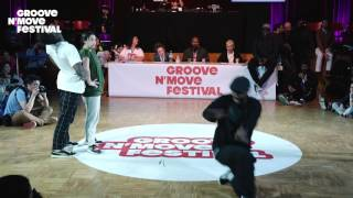 GROOVE'N'MOVE BATTLE 2017 - All Style Semi-Final / Aris & Lilipuce  VS Sheila & Goku