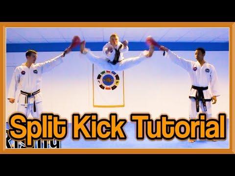 Taekwondo Split Kick Tutorial (Front Kicks Version) | GNT How to