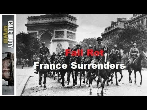 FALL ROT: FRANCE SURRENDERS (FINNTROLL 1984'S WAR TALES #20 WW II CODWWII)