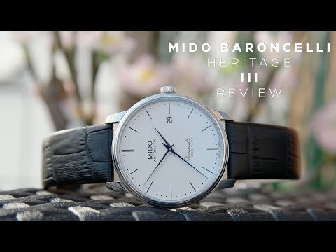 Mido Baroncelli Heritage III 39mm Review | The Best Dress Watch Under $1000