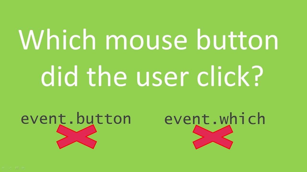 JavaScript: Reliably detect which mouse button was pressed
