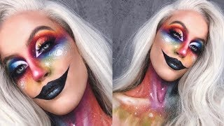 GALAXY CLOWN HALLOWEEN MAKEUP
