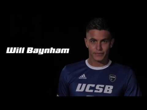 Will Baynham UCSB 2019 Men's Soccer (NCAA Division 1)