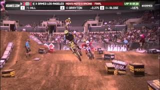 Brayton wins Men's Moto X Racing gold