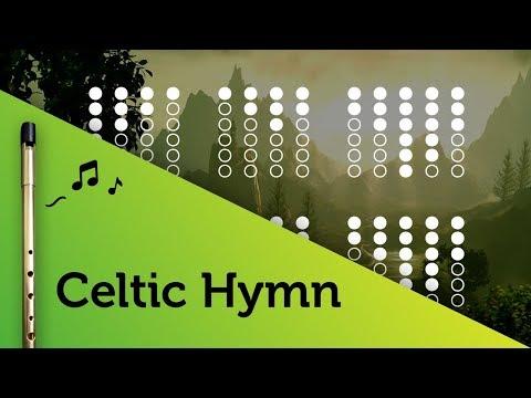 Celtic Hymn on Tin Whistle D + tabs tutorial