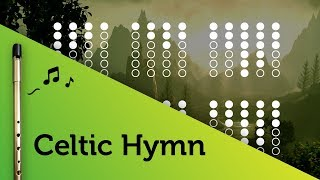 Celtic Hymn on Tin Whistle D tabs tutorial