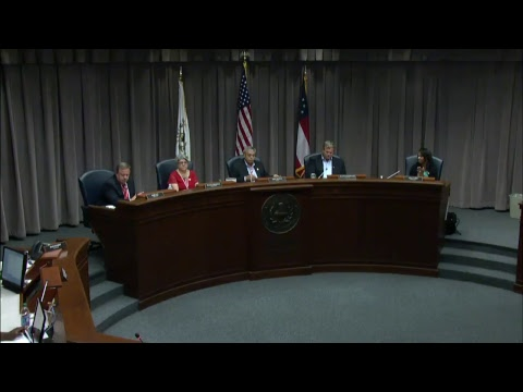Cobb County Board of Commissioners Meeting - 07/25/18