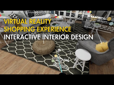Virtual Reality Shopping Experience | Interactive Interior