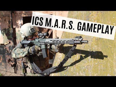 Airsoft Gameplay ICS MARS Pro - Allstedt Flugplatz - 4k/UHD
