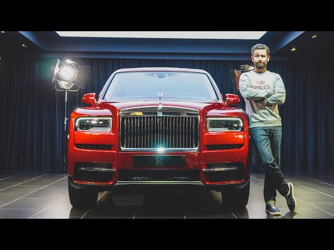 NEW Rolls Royce Cullinan SUV First Look!
