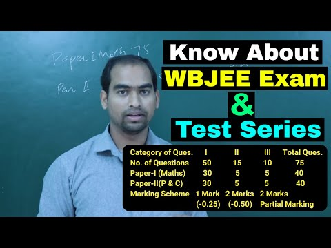 A Big announcement regarding WBJEE Exam and Test Series!