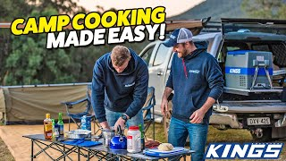 EPISODE THREE! A Begiฑners Guide to Camping - Camp Cooking & Campfire BBQ Tips, Tricks and Secrets!