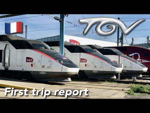 TRIP REPORT   TGV SNCF (2ND CLASS)   TGV Sud Est   Lille Flandres 🇫🇷- Paris Gare Du Nord🇫🇷  