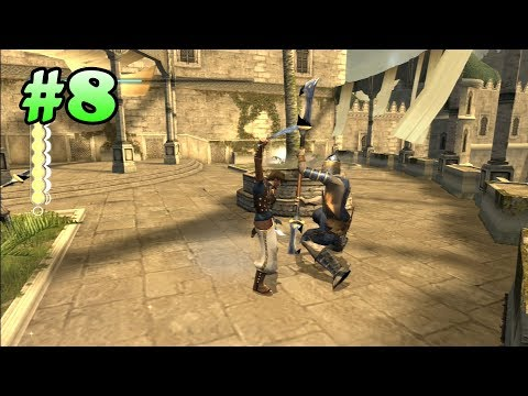 Prince of Persia: The Sands of Time Walkthrough - Part 8 (All Life Upgrades) (PS3 HD)