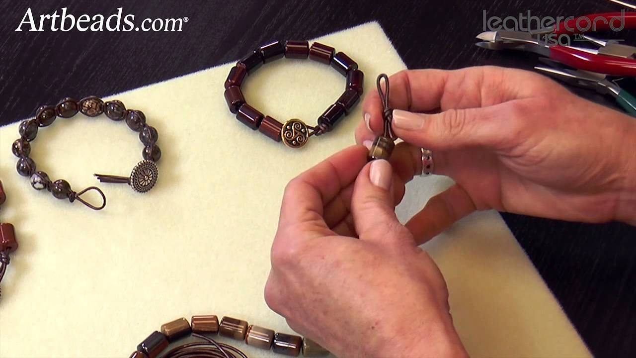 Artbeads Mini Tutorial On And Loop Closures With Katie Hacker You