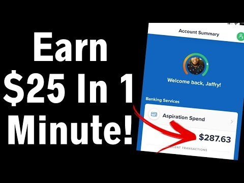 Earn $25 Dollars In 1 Minute RIGHT NOW! (How To Make Money Online)